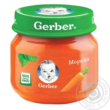 Gerber carrot puree 80g - buy, prices for Auchan - photo 1