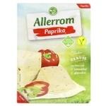 Сыр Allerrom с паприкой нарезка 50% 110г - купить, цены на Varus - фото 1