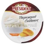 Творог President Сметана-Курага 9% 180г