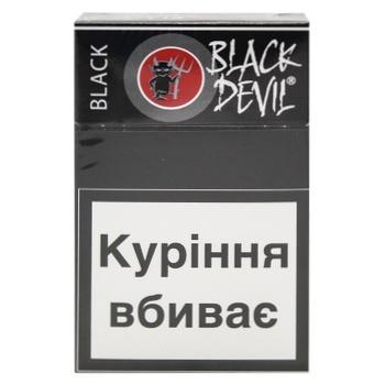 Сигареты Black Devil Black 20шт