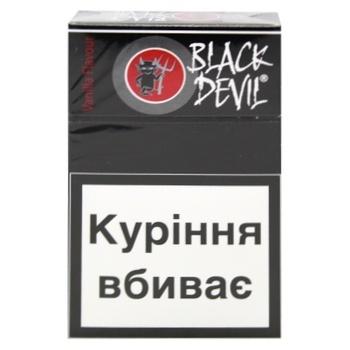 Цигарки Black Devil Vanila 20шт