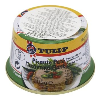 Tulip Liver Pate Spicy 125g - buy, prices for CityMarket - photo 1