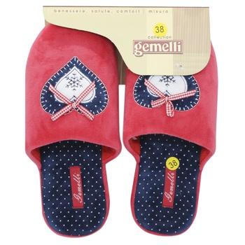 Обувь домашняя Gemelli женская Бьюти в ассортименте - купить, цены на МегаМаркет - фото 1