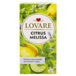 Lovare Citrus and Melissa Tea 24x1.5g - buy, prices for MegaMarket - image 1