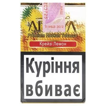 Табак Adalya Crazy Lemon 50г - купить, цены на МегаМаркет - фото 1
