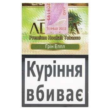 Табак Adalya Green Apple 50г - купить, цены на МегаМаркет - фото 1