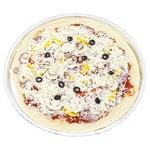 Пицца Нью-Йорк полуфабрикат охлажденный 530г