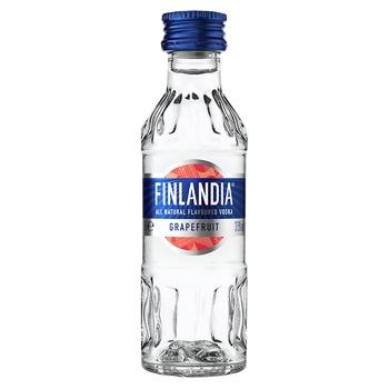 Горілка Finlandia Грейпфрут 37,5% 0,05л - купити, ціни на CітіМаркет - фото 1