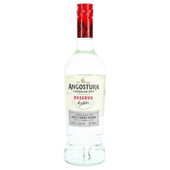 Ром Angostura Caribbean Reserva 37,5% 0,7л - купити, ціни на CітіМаркет - фото 1