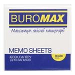 Buromax Rainbow Paper Block For Notes 8х8cm 400 Sheets