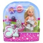 Eva Doll toy with animals