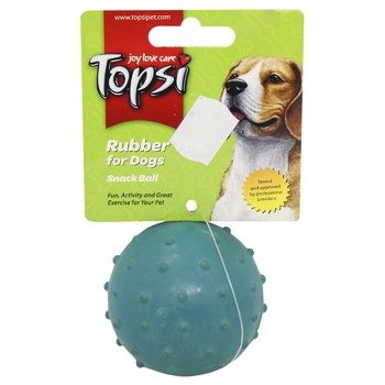 Topsi Ball Rubber Toy for Dogs 7cm - buy, prices for Auchan - photo 1
