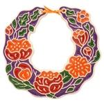 Necklace With Poppies Ceramic Product Decoration 17х17cm assortment
