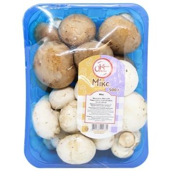 Champignons Mushrooms Mix 500g - buy, prices for CityMarket - photo 3
