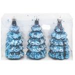 Набор новогодних украшений 11х5см 3шт SYQB-0120185