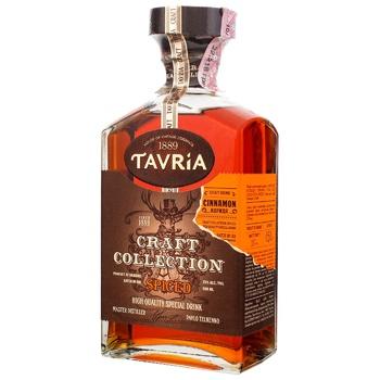 Напиток алкогольный Таврия Craft Collection Spiced крепкий 35% 0,5л