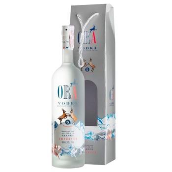 Водка Ora Vodka Box 40% 0,7л - купить, цены на МегаМаркет - фото 1