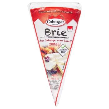 Сыр Coburger Бри мягкий 60% 200г - купить, цены на ЕКО Маркет - фото 1