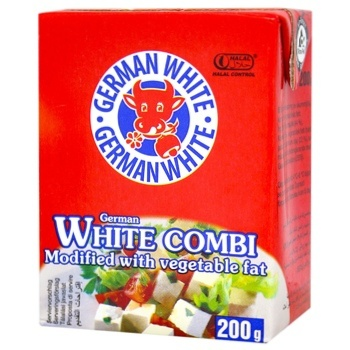 Сирний продукт German White Фета 38% 200г