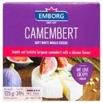 Сыр Emborg Camembert 50% 125г