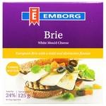 Сир Emborg Brie з пліснявою 50% 125г