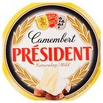 Сыр Президент Камамбер 60% 120г