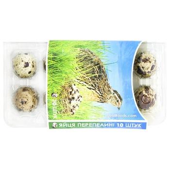 Яйца Продовольственный Альянс перепелиные 10шт - купить, цены на СитиМаркет - фото 1