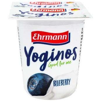 Йогурт Ehrmann Черника 0,1% 100г