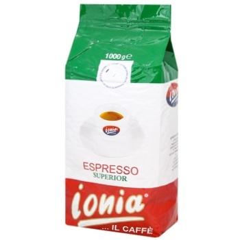 Кофе Ionia Espresso Superior в зернах 1кг