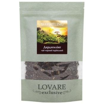 Чай чорний Lovare Darjeeling індійський 50г