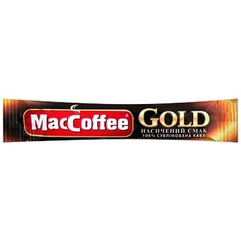 Кофе MacCoffee Gold растворимый 2г
