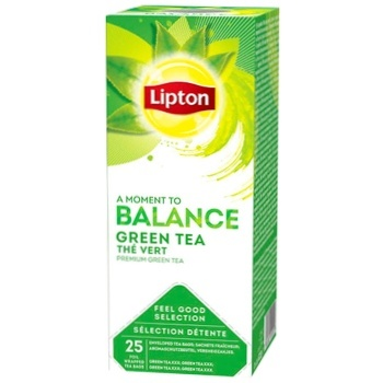 Чай Lipton Balance Green Tea 25пак*1,3г