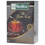 Чай черный Qualitea Earl Grey среднелистовой 100г