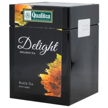 Чай черный Qualitea Delight Black tea Herbs 100г