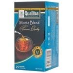 Черный чай Кволити Монте Бленд цейлонский в пакетиках 25х1.8г Украина