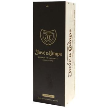 Juve&Camps Reserva de La Familia White Brut Wine 12% 1.5l - buy, prices for CityMarket - photo 1