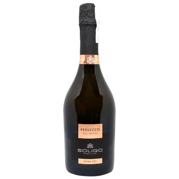 Soligo Prosecco Treviso White Extra Dry Sparkling Wine 11% 0.75l - buy, prices for CityMarket - photo 1