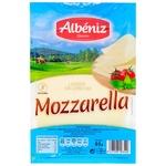 Сыр Albeniz Моцарелла нарезной 45% 90г