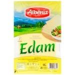 Сыр Albeniz Эдам нарезной 45% 90г