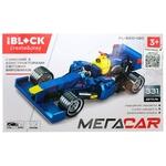 Іграшка Iblock Конструктор Болід синій PL-920-140