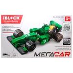 Іграшка Iblock Конструктор Болід зелений PL-920-141