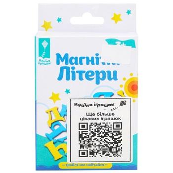 Іграшка Країна іграшок Українська абетка магнітна
