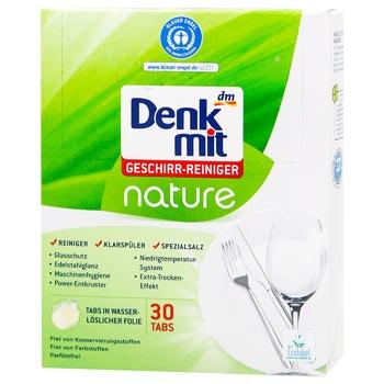 Средство Denkmit для посудомоечных машин 30 таблеток