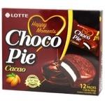Печиво Lotte Choco Pie Cacao 12*28г 336г
