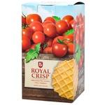 Вафли Royal Crisp соленые без начинки Чипс с томатом 85г