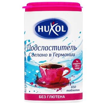 Заменитель сахара Huxol подсластитель в таблетках 650шт 39г