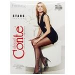 Conte Elegant Women's Tights Fantasy Stars s.4 Nero