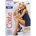 Conte Elegant Women's Tights City 40den s.3 Natural