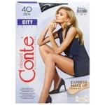 Conte Elegant Women's Tights City 40den s.3 Nero