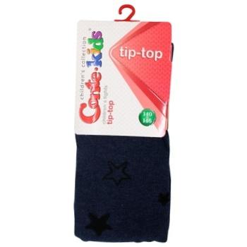Колготи Conte-kids Tip-Top дитячі темний джинс 140-146р - купити, ціни на CітіМаркет - фото 1